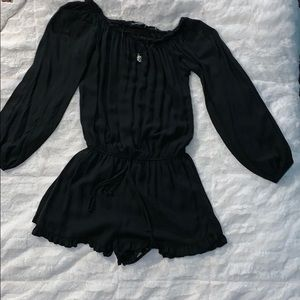 Brandy Melville black off-shoulder romper